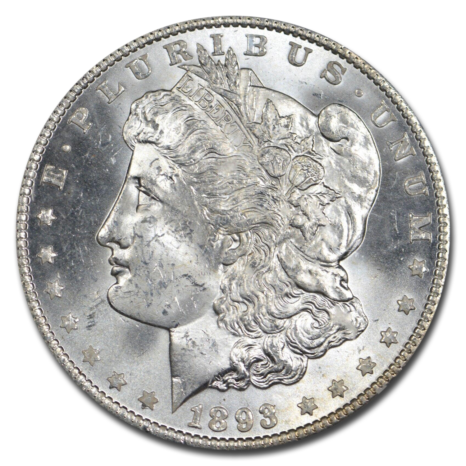 1893 Morgan Dollar MS-63 PCGS